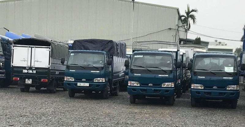 giá thuê xe tải nhỏ